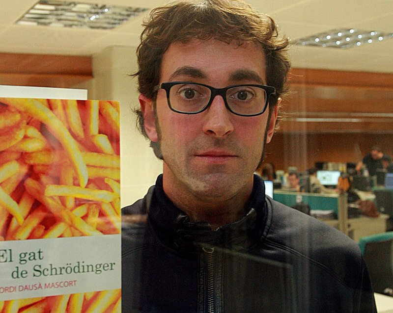 Imatge de Jordi Dausà, quan va presentrar la seva anterior novel·la, l'any 2012.