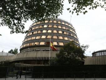 Imatge de la seu del Tribunal Constitucional, ubicat a Madrid Foto:EUROPA PRESS