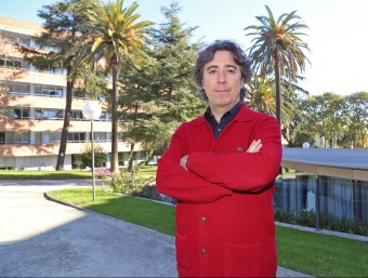 Jaume Rey, director general d'M2M Cloud Factory, al viver d'empreses de La Salle, on s'ubica la companyia.  Foto:JUANMA RAMOS