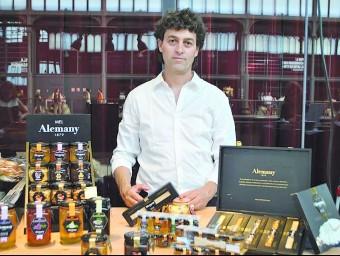 Ferran Alemany, cinquena generació de l'empresa d'Os de Balaguer.  Foto:ARXIU