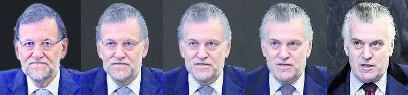 Rajoy i Bárcenas