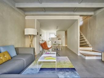 Imatge d'un dels habitatges de Solvia InnovaMaresme a Sant Andreu de Llavaneres  Foto:ARXIU