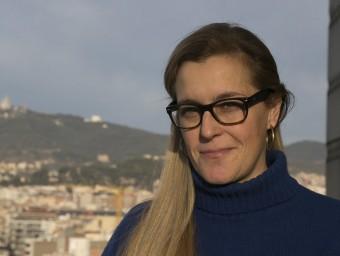 Olga Sala és una de les sòcies de Monapart.  Foto:ALBERT SALAMÉ