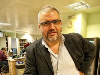 Sisco Sapena, director executiu de Lleidat.net.  Foto:ANDREU PUIG