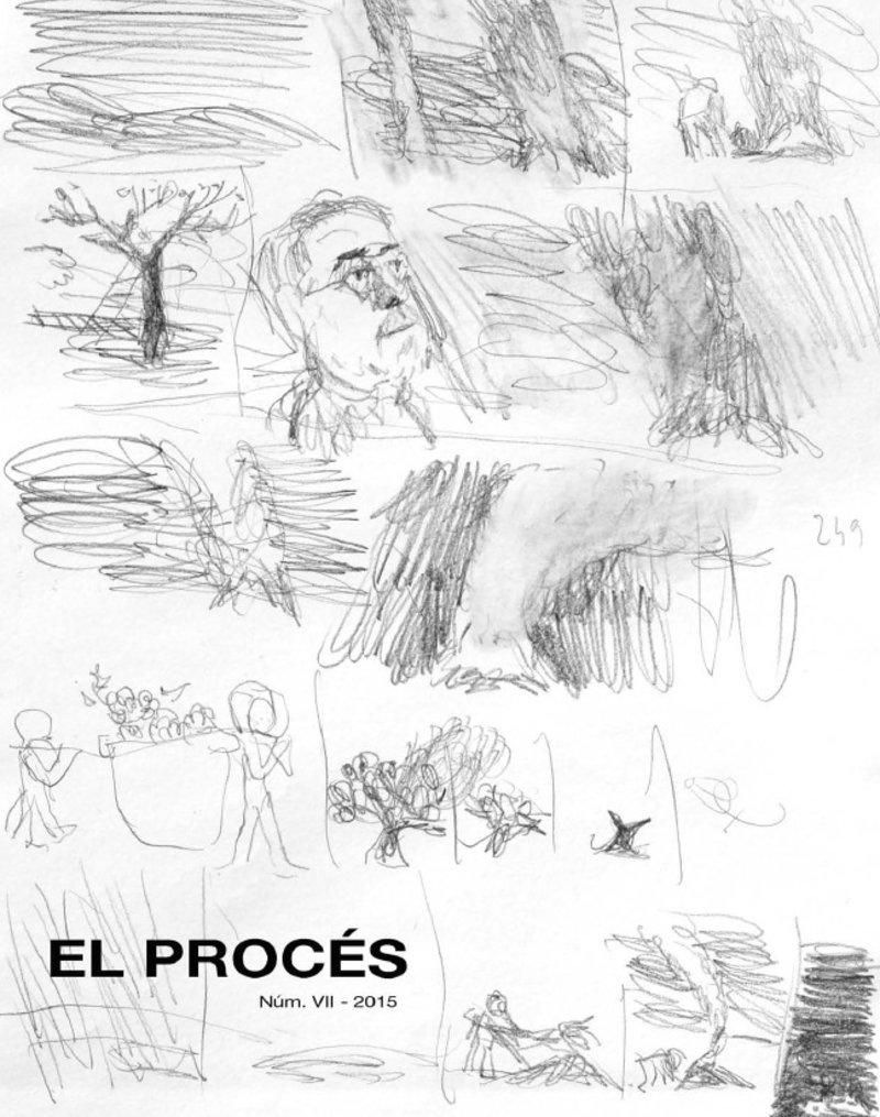 Imatge de la portada del setè número de la revista, il·lustrada amb un dibuix de Mim Juncà.