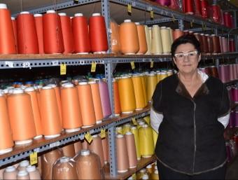 Roser Ramos, directora gerent de Cóndor a la fàbrica d'Arenys de Mar.  Foto:RAMON ROCA