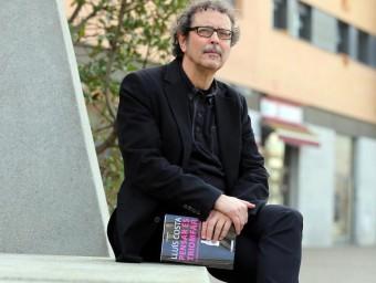Lluís Costa presentarà el llibre el dijous 11 de febrer a 2/4 de 8 del vespre a la Fundació Valvi de Girona Foto:QUIM PUIG