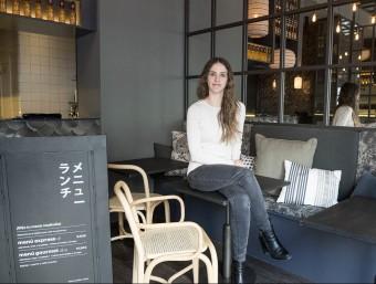 Sara Serantes va fundar Sushifresh el 2012 i tot just acaba d'obrir restaurant a Barcelona.  Foto:JOSEP LOSADA
