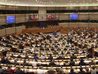 Sessió plenària del Parlament Europeu a Brussel·les.  Foto:ARXIU
