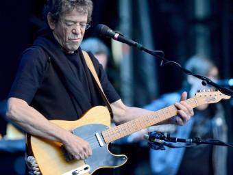 Lou Reed, aquí en un concert a Berlín el juny de 2012, és autor de 'Take a walk on the wild side'.  Foto:ARXIU/EFE