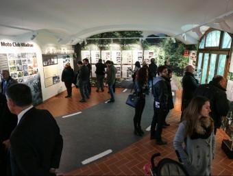 Una panoràmica de l'exposició inaugurada diumenge passat Foto:PERE NUBIOLA