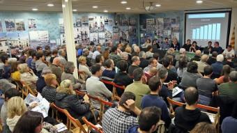L'assemblea de fi de temporada dels Castellers de Vilafranca a Cal Figarot Foto:Juanma Ramos