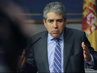 Francesc Homs en una imatge al Congrés dels Diputats Foto:EFE