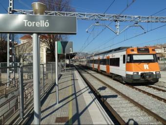 L'estació de Torelló. Foto:J.C