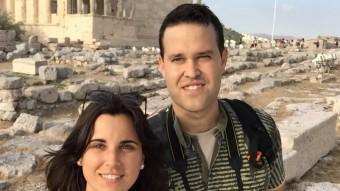 Laura Fernández i la seva parella, David de la Llave. Foto:EL PUNT AVUI