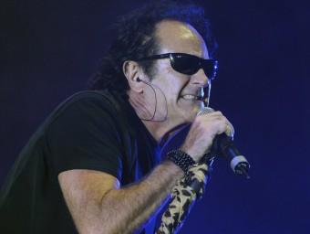 Johnny Cifuentes en el concert de 'Vivo y salvaje', a Madrid Foto:WARNER