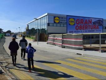 El nou establiment, en una imatge d'ahir al migdia. Foto:N.F
