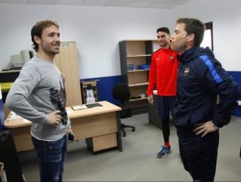Giuseppe Rossi, Joan Verdú, Lucas Orbán, Mauricio Cuero i Carl Medjani estaran disponibles avui contra el Barça. Tots cinc han entrat en la llista de Rubi Foto:EFE / LLEVANT UD