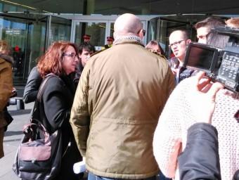 Manolo, el pare del jove que ha denunciat agressions sexuals per part del professor de gimnàs a l'escola dels Maristes de Sants-les Corts, a Barcelona