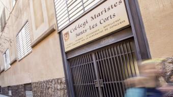 L'entrada del Centre dels Maristes Foto:ALBERT SALAMÉ