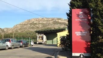 la planta de transferència es situarà en la deixalleria municipla, a la carretera de l'Estartit. Foto:JOAN PUNTÍ