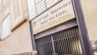 L'edifici del Col·legi dels Maristes, que està al carrer Vallespir de Barcelona i on se situen els abusos sexuals denunciats Foto:ALBERT SALAMÉ