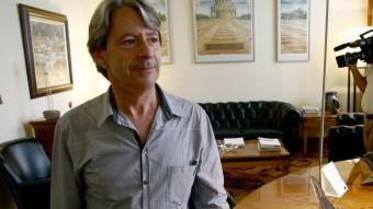 Josep Xicola , al seu despatx en una imatge d'arxiu del 2010 Foto:EL PUNT AVI