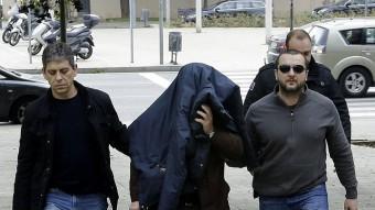Benítez dissabte , entrant a declarar al jutjat d'instrucció número 6 Barcelona Foto:Q.GARCIA/EFE
