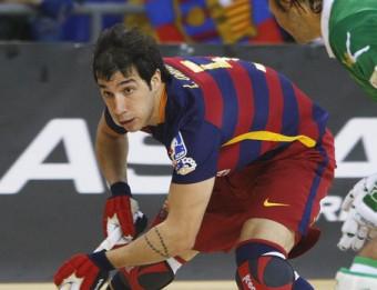 Lucas Ordóñez va marcar dos gols contra l'Iserlohn Foto:ORIOL DURAN