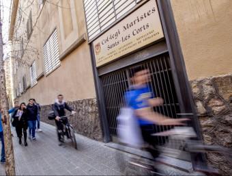 El Col·legi dels Maristes , de Sants -Les Corts de Barcelona Foto:ALBERT SALAMÉ