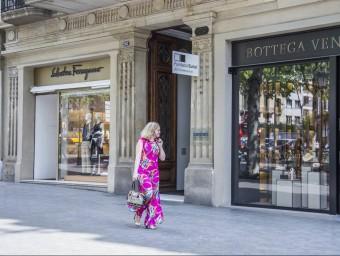 Imatge d'una botiga de Passeig de Gràcia.  Foto:ARXIIU