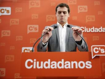El líder de Ciutadans, Albert Ribera Foto:REUTERS