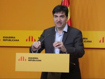 El portaveu d'ERC, Sergi Sabrià Foto:ACN