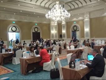 Una de les jornades de treball que s'han fet aquests dies a Abu Dhabi.