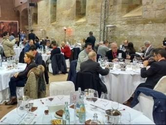 El jurat del concurs internacional Grenaches du Monde van triar els millors vins. Foto:EL PUNT AVUI