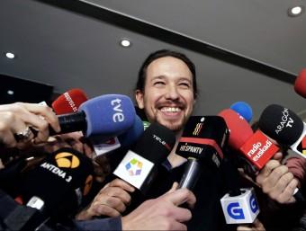 El líder de Podem, Pablo Iglesias Foto:EFE