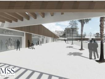 Imatge virtual del port esportiu, segons el projecte que hi preveia MSS Real Estate Foto:MSS