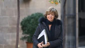 La consellera de Governació, Meritxell Borràs Foto:ANDREU PUIG