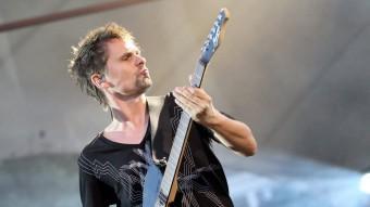 Matthew Bellamy, líder de Muse Foto:ARXIU