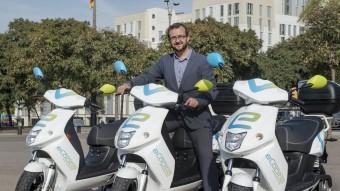 El CEO d'eCooltra Motosharing, Tomàs Megía Foto:EPA