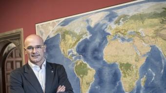 El conseller d'Afers Exteriors, Raül Romeva Foto:JOSEP LOSADA