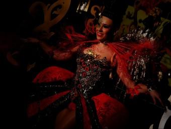 La comparsa Nou Ritme serà l'encarregada de fer el seguici del rei Carnestoltes el carnaval de l'any vinent Foto:LAIA MARÍN