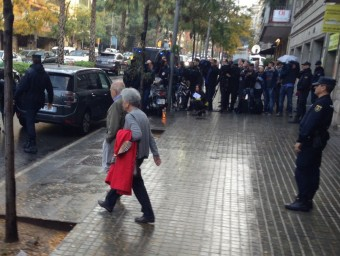 Jordi Pujol i Marta Ferrusola surten de casa seva Foto:EP