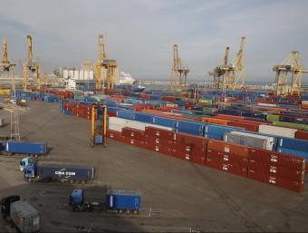 El port de Barcelona Foto:ORIOL DURAN