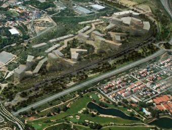 Els terrenys, on està previst que s'hi construeixi BCN World Foto:ACN