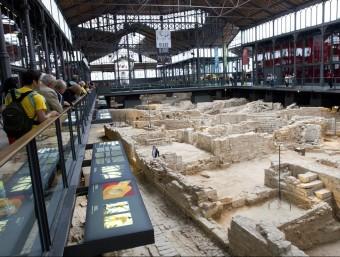 Les ruïnes del Born Centre de Cultura i Memòria no patiran cap modificació Foto:ALBERT SALAMÉ