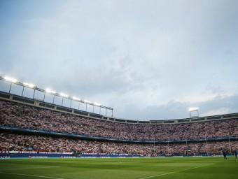 L'estadi de l'Atlético de Madrid té molts números per acabar acollint la final de la copa del Rei Foto:EFE