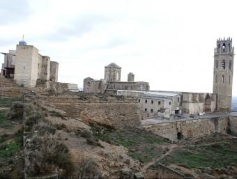 El Baluard del Rei, a la imatge, serà el primer que es restaurarà en el pla de consolidació de les muralles del Turó Foto:H.S./PAERIA