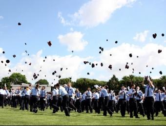 Acte de graduació d'una promoció de Mossos d'Esquadra el 2012 Foto:ARXIU