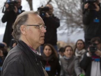 L'excomptable de Nóos, Marco Antonio Tejeiro, arriba aquest divendres a la seu del judici Foto:EFE
